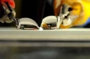 Crean un cuchillo que corta el agua - Fotos