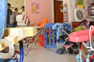 Fotos escalofriantes del jardín del escándalo de Chubut