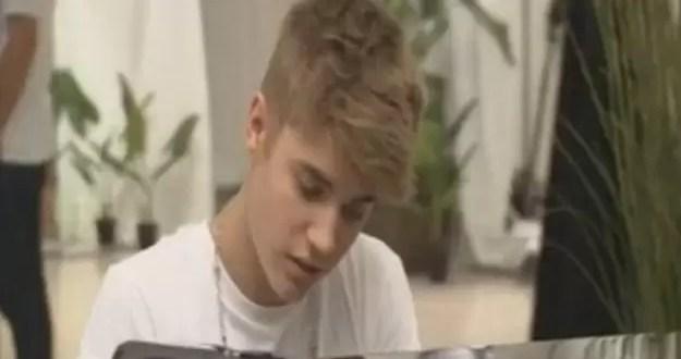 Video: Let it be de The Beatles por Justin Bieber