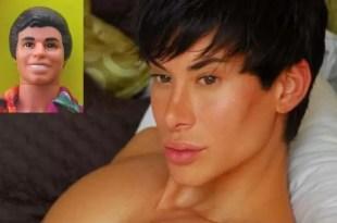Fotos y video: Se hace 90 cirugías para ser como Ken