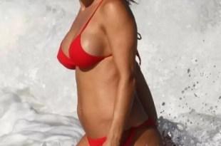 Fotos de Lola Ponce embarazada en bikini
