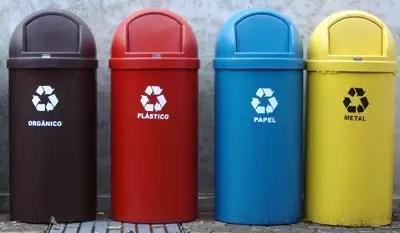 Cómo separar los residuos en el hogar