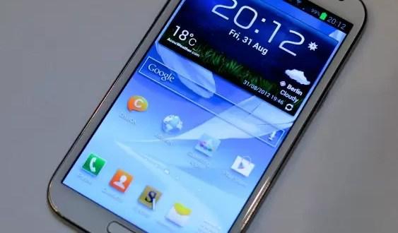 Video: Así es el nuevo Samsung Galaxy Note 2