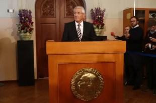 La Unión Europea recibe el Premio Nobel de la Paz