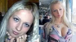Fotos de la Barbie Humana antes de las cirugías