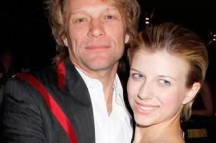 Encuentran a la hija de Bon Jovi inconsciente por sobredosis