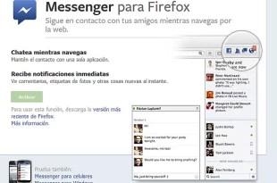Cómo usar el chat de Facebook a través de Firefox