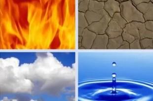 Conoce las características de cada elemento: Fuego, tierra, aire y agua
