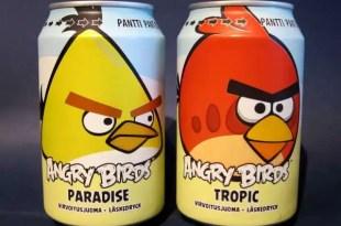 La gaseosa de Angry Birds aniquila a Coca-Cola