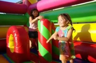 Cómo evitar los peligros de los juegos inflables