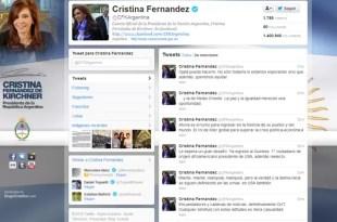 Las críticas de Cristina Kirchner a los medios de los EEUU
