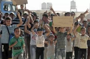 Video fuerte: Terrible matanza de 10 niños mientras jugaban