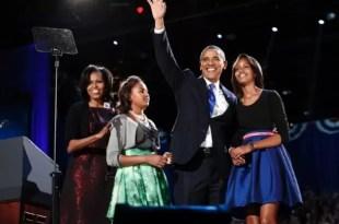 El festejo íntimo de Barack Obama al ganar la reelección