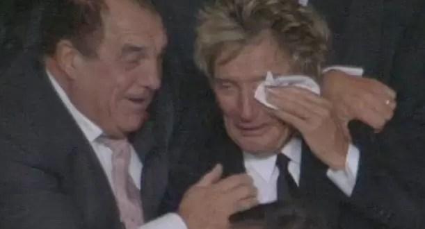 Video: la emoción de Rod Stewart por el éxito del Celtic