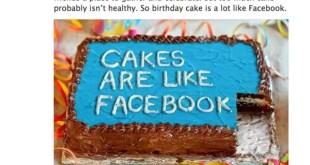 Facebook autocrítico: 'Facebook en exceso es dañino'
