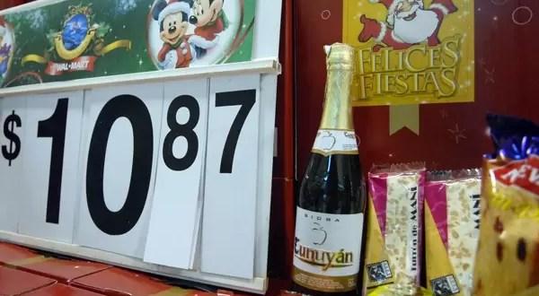 Cuál es la suba de la canasta navideña?