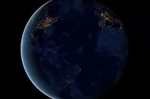 Video imperdible: Así se ve la Tierra de noche