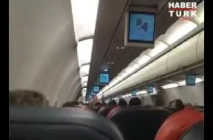 Video: Avión se prende fuego en pleno vuelo