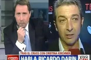 Feroz pelea entre Eduardo Feinmann y Ricardo Darín