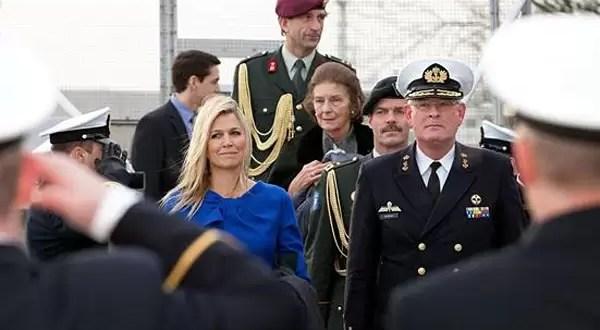 Primera actividad oficial como reina de Máxima Zorreguieta