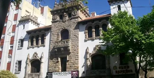 Roban caja fuerte del Teatro Colón de Mar del Plata