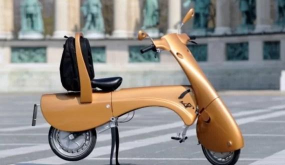Fotos: Así es la moto plegable y ecológica