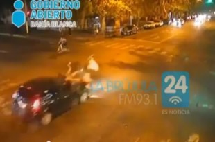 Video impactante: atropellan a dos mujeres en Bahía Blanca