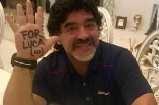 Video: Diego Maradona habla de su hijo recién nacido