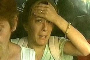 Video: Así huyó de su casa Yanina Gogonza, la maestra abusadora