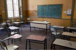 Amenaza de paro docente por 72 horas