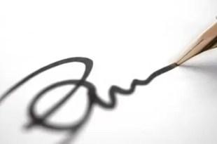 Enteráte qué revela tu firma de vos