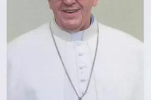 Foto oficial del papa Francisco