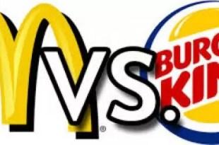 Lo mejor y lo peor de McDonald's y Burger King