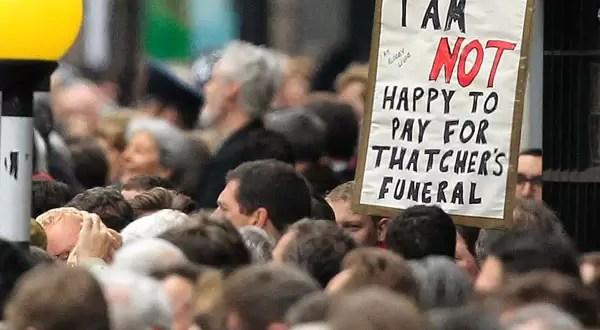 Polémica ¿Cuánto costó el funeral de Margaret Thatcher?