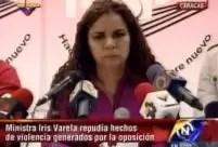 Ministra venezolana promete encarcelar a Henrique Capriles - Video