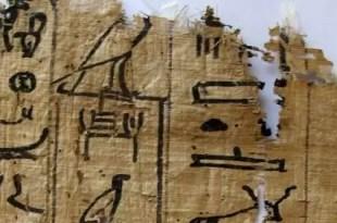 Encuentran en Egipto los papiros más antiguos descubiertos