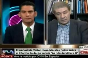 Pelea en vivo entre Víctor Hugo y un periodista de la CNN - Video