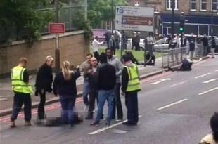 Decapitan a un soldado en Londres - Video