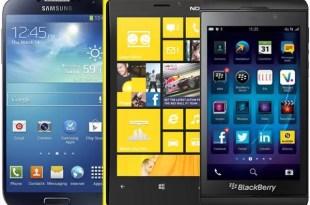 Éstos son los smartphones a llegar pronto