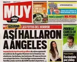 Polémica: las fotos de Ángeles Rawson muerta