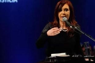 El primer mensaje de Cristina Kirchner tras la tragedia
