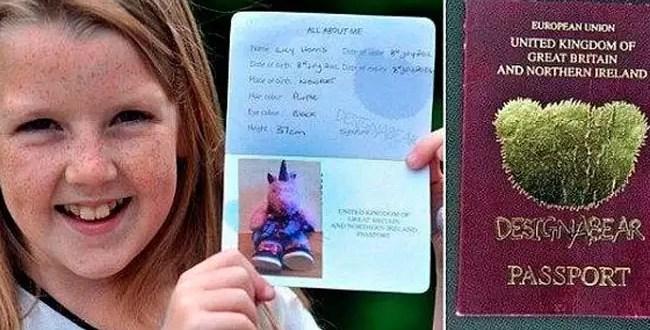 Niña pasó control migratorio con pasaporte de muñeco