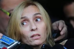 La furia de la madre de Ángeles Rawson porque le rayaron el auto