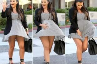 Fotos: Kim Kardashian embarazada a lo Marilyn Monroe