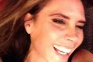La foto jamás vista de Victoria Beckham