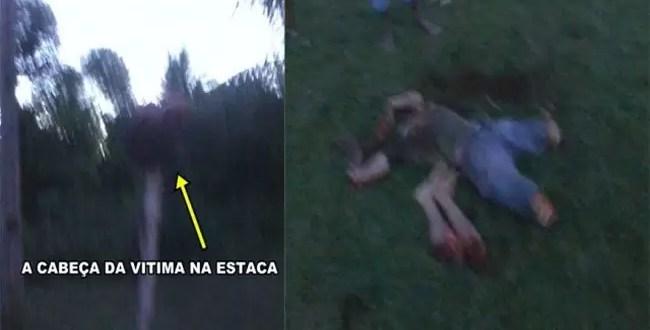 Fotos y Video: Descuartizan a un árbitro que mató a futbolista