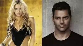 Shakira y Ricky Martin, los cantantes más peligrosos