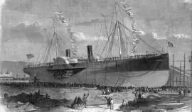"""Tras un siglo y medio de misterio hallan al otro """"Titanic"""""""