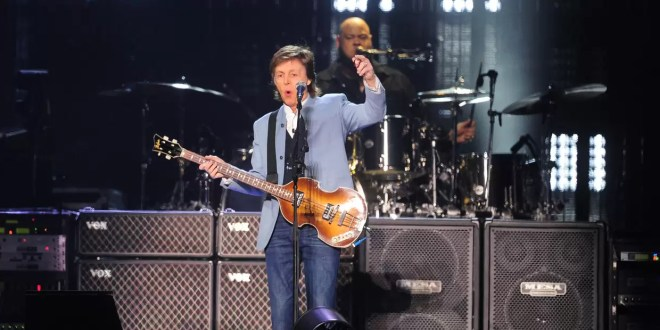 Lo que parece ser la última visita de Paul McCartney a la Argentina