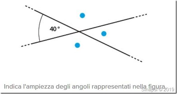 Test di geometria su angoli, segmenti e rette